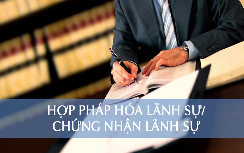 hợp pháp hóa lãnh sự