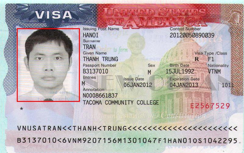 mẫu đơn xin visa mỹ