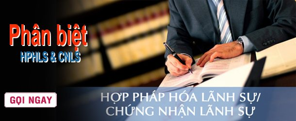 Hợp pháp hóa lãnh sự tiếng Anh là gì