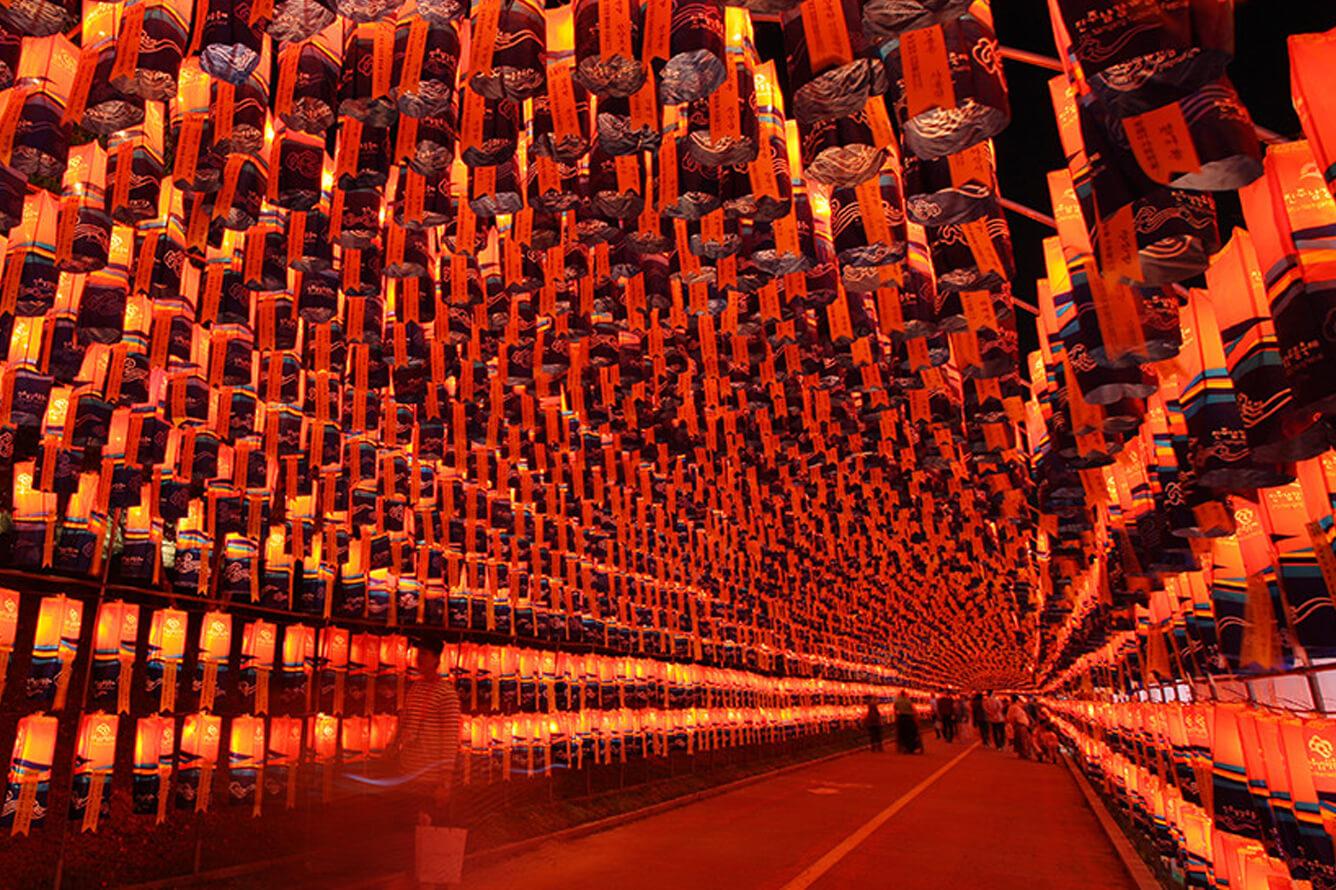 Lễ hội Hanji khi Hàn Quốc vào mùa thu