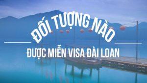 xin miễn visa đài loan